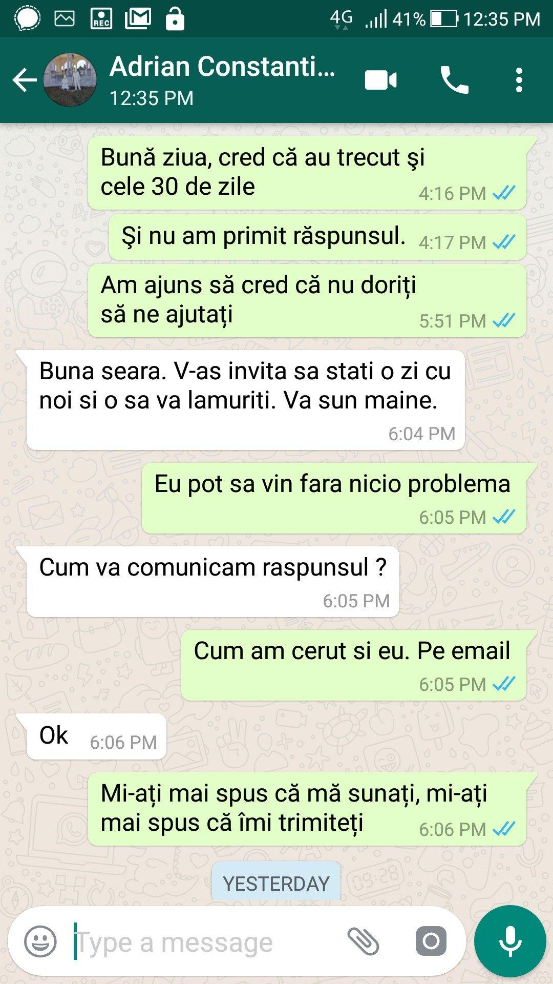Discuție cu Adrian Constantin, angajat al Primăriei Năvodari