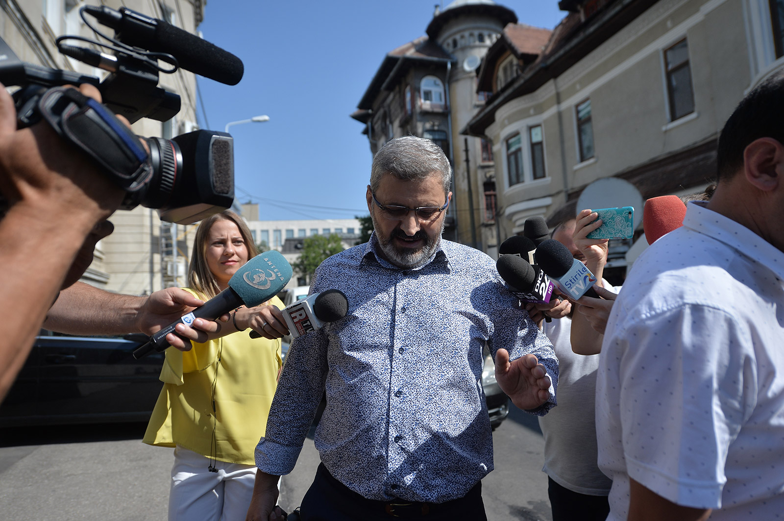 Petre Pitiș la DNA. Foto: Mediafax Foto, Alexandru Dobre