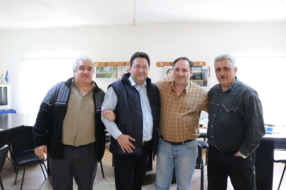 Ovidiu Bugi (stânga), Petru Cîmpian (dreapta). Foto: Facebook