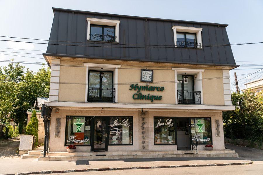 Farmacia Hyperici de pe Strada Grigore Alexandrescu nr. 11A din Târgoviște figurează în evidențele Ministerului Sănătății ca fiind autorizată să funcționeze într-un centru comercial. Proprietarele, PSD-istele Holban și Boboacă, nu au răspuns la e-mail-ul prin care RISE le-a rugat să comenteze această situație. FOTO: Sergiu Brega.