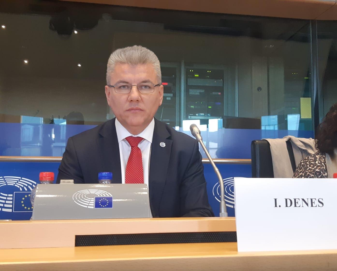 Ioan Deneș, Ministrul Apelor și Pădurilor.