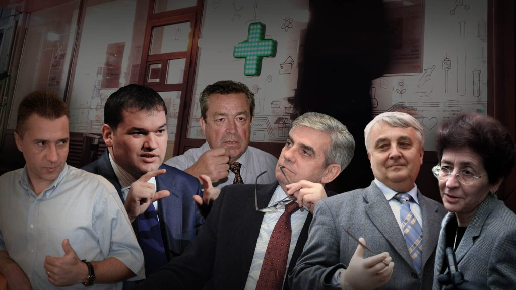 În ultimii 20 de ani, România a avut 20 de miniștri ai Sănătății, fie ei plini sau interimari. Mai jos, o reconstituire a felului în care cei mai mulți dintre ei au contribuit la haosul pieței farmaciilor de astăzi din București. FOTOGRAFII: Mediafax.