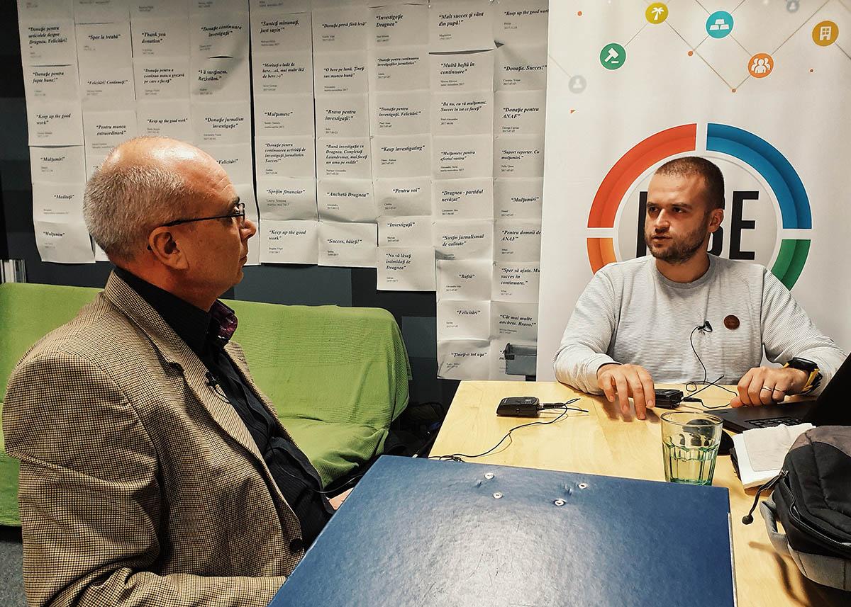 Gheorghe Marin, șeful Inventarului Forestier Național (IFN), a acordat un interviu în exclusivitate pentru RISE Project.