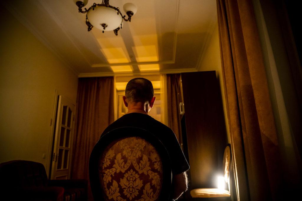 Alexey- omul care a povestit cum se desfășura acțiunea în interiorul Milton Group/ FOTO Alexander Mahmoud/DN