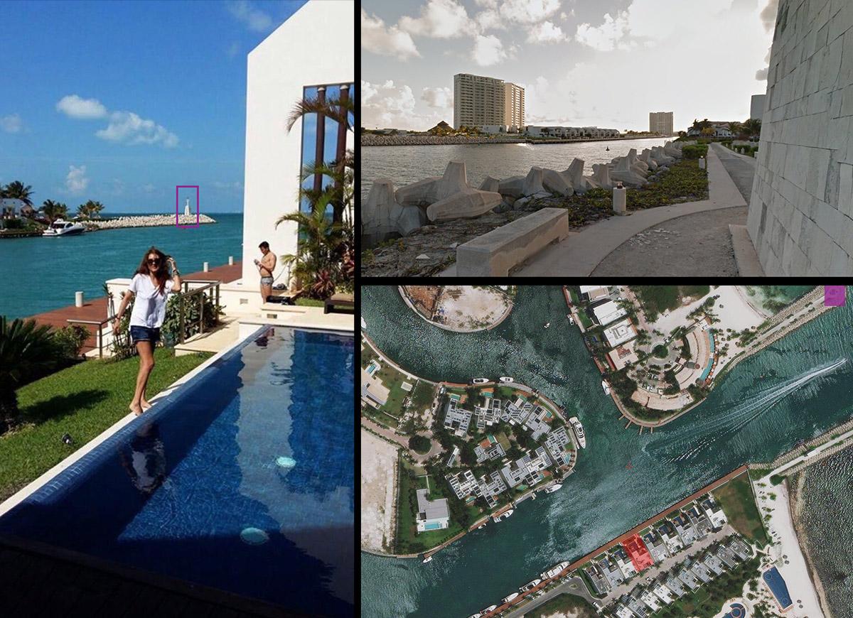 La vila în care a fost inițiat tehnicianul s-a fotografiat și Claudia Popa -prietenă cu Damian Nedescu. El este primul membru al grupării pe care Simion l-a întâlnit în Cancun.