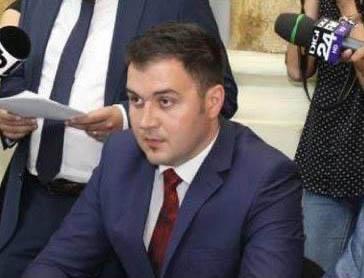 Alin Todireanu, unul dintre consilierii județeni excluși din PSD, la finalul lunii iunie 2020.