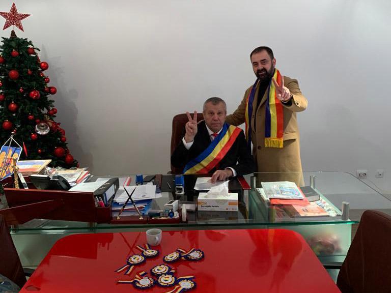Florian Puiu și Petre Iacob, în decembrie 2019
