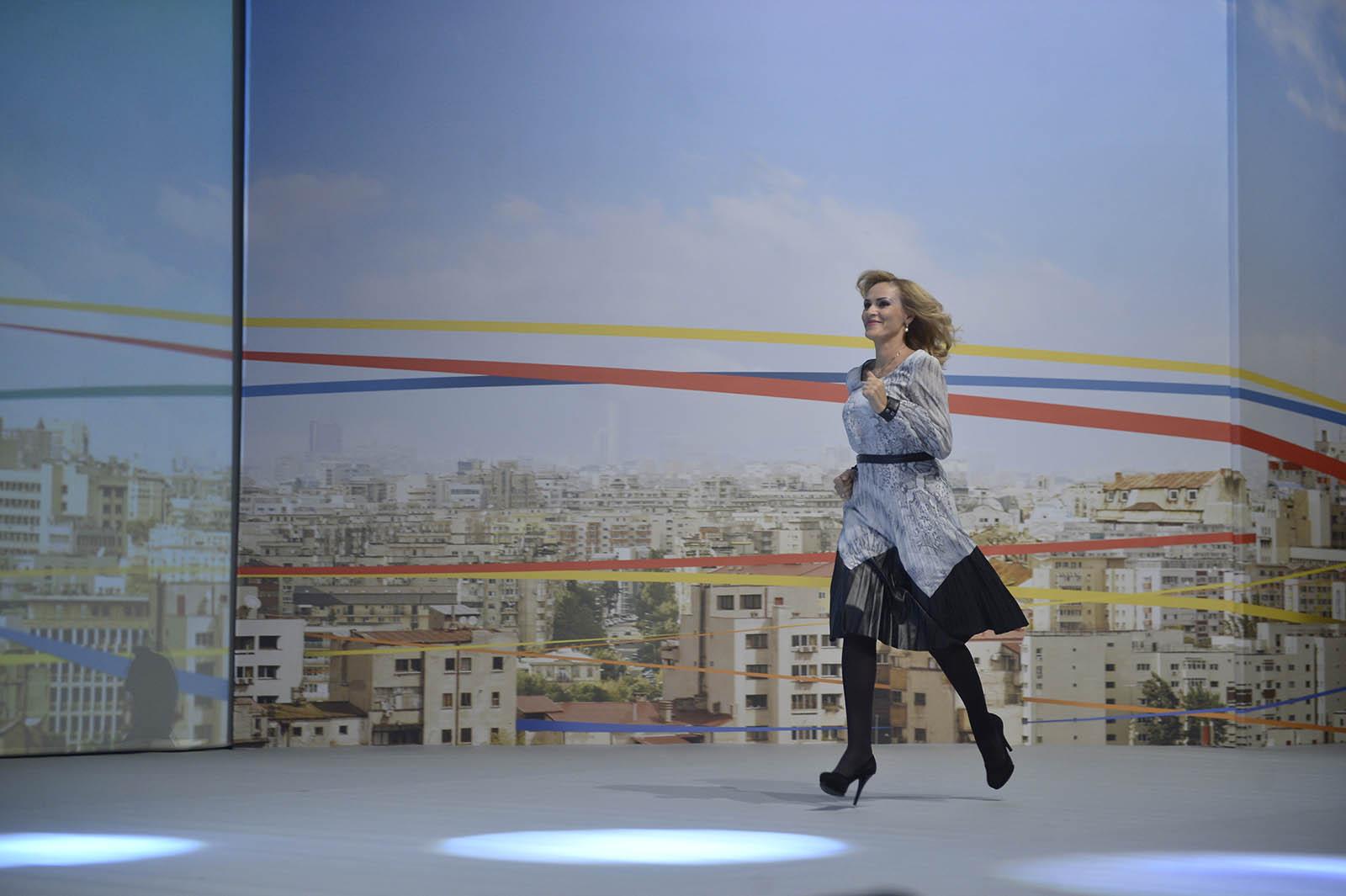 Gabriela Firea, primarul Bucureștiului. Foto: MediafaxFoto / Marius Dumbrăveanu