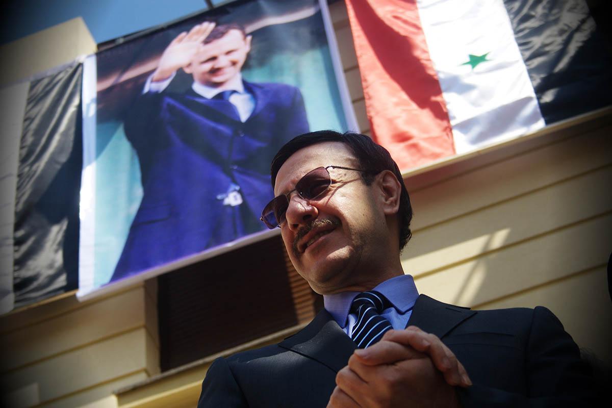 Walid Othman, ambasadorul Siriei la București. Foto: Adel Al-Haddad / Mediafax Foto