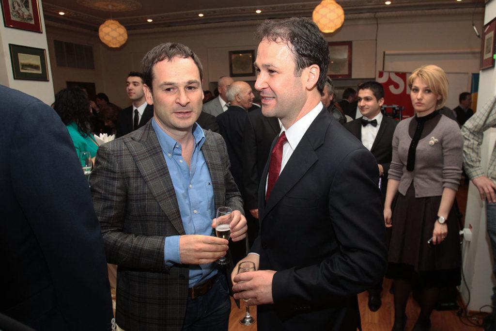 Ionuț Negoiță și Robert Negoiță în 2012. Foto: Mediafax Foto / Silviu Matei